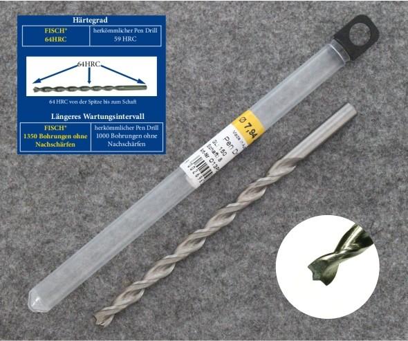 7.94mm Fisch HSS-M2 150mm Fast Cut Master Pen Drill Bit