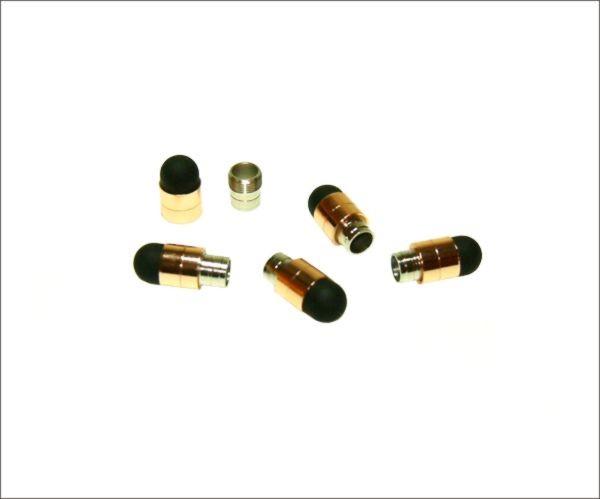 Touch stylus pen cap I Kupfer 5er Pack
