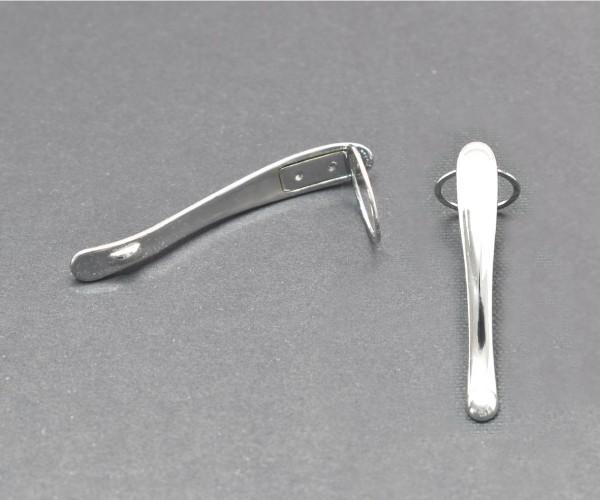 Clip Rhodium für Jr-Majestic ohne Swarovski-Kristall