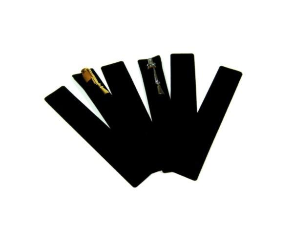 Einsteckhülle klein schwarz 6er Pack Größe: 16x3 cm
