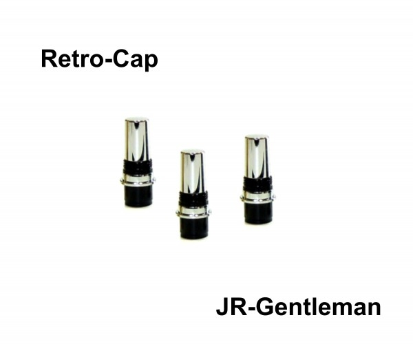 Zub Retro-Cap JR-Gentleman Chrom