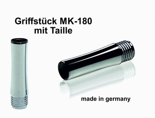 Griffstück MK-180 Chrom für Bock-Tintenleitsysteme 5 mm