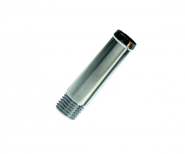 Bock Griffstück für Tintenleitsysteme 6 mm Chrom glänzend