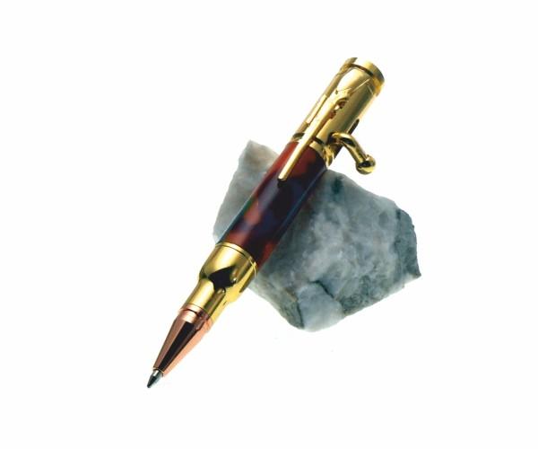 Bolt Action mini Pen Gold