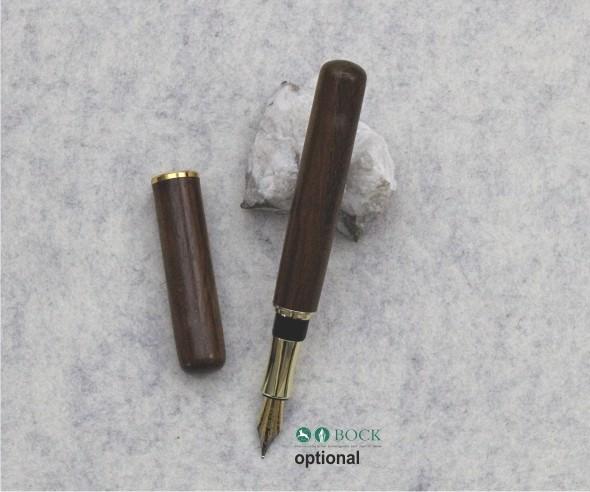 Closed End XL Zigarre Basis Bausatz Füller Gold 24ct vergoldet