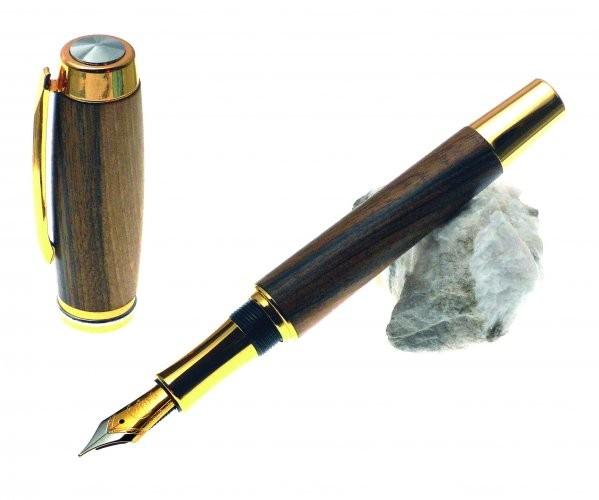 Präsident Basis Bausatz Füller Gold mit Griffstück für Bock Tintensystem