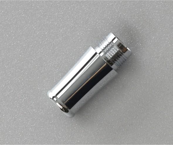 Griffstück X750 Chrom für Bock-Tintenleitsysteme 6 mm