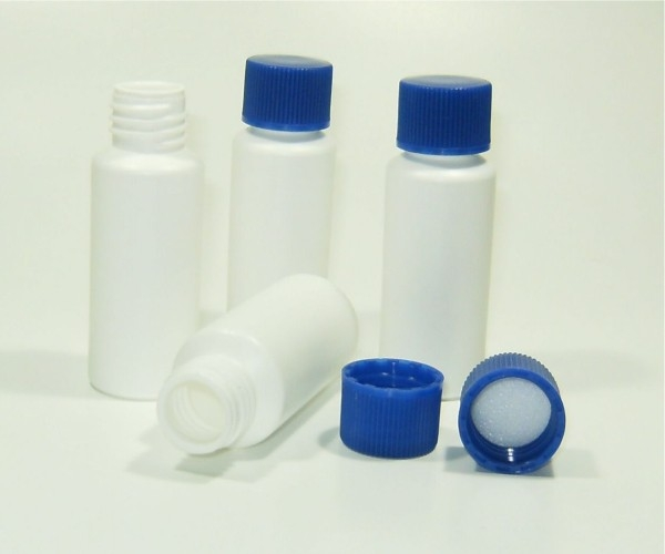 Kunststoffbehälter für zB. Öllampenöl, Kleber ect 4er Set
