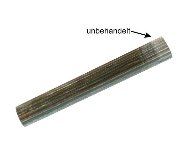 Blank Buntholz grün und braun Maße ca. 20x20x130