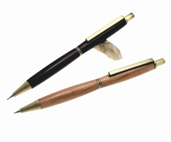 Slim Pencil Doppelring Antik Bronze