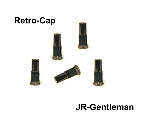 Zub Retro-Cap JR-Gentleman Gun Metal