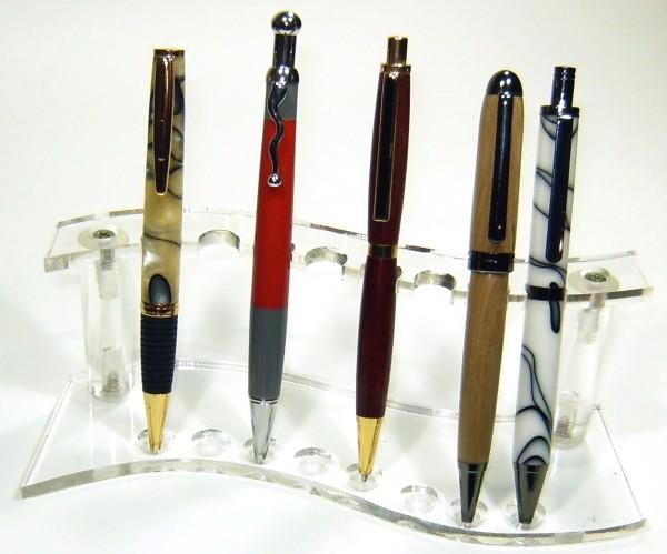 Stift-Aufsteller Welle für 8 Stifte pen display stand