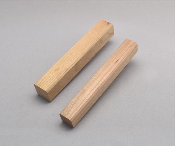 Blank Holz amerik. Kirsche ca. 25x25x150mm